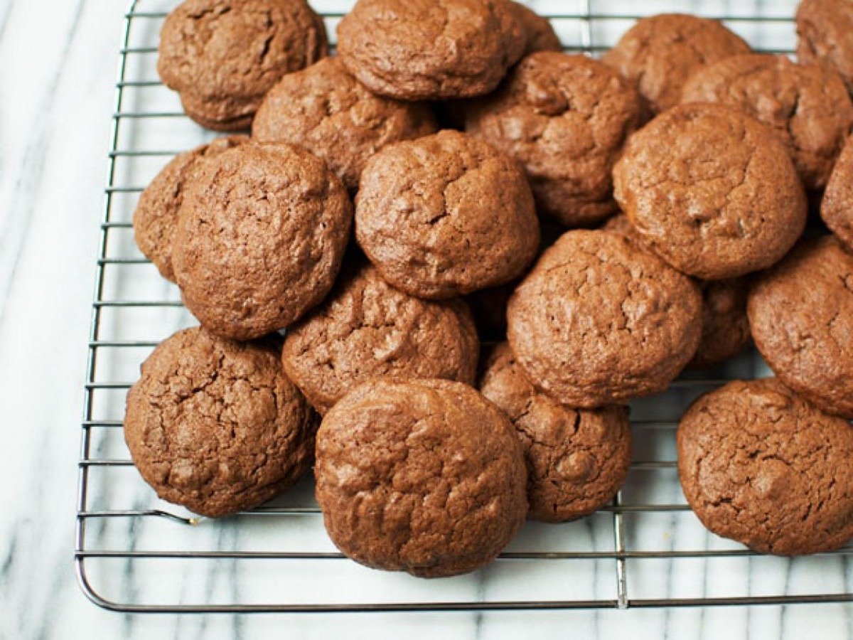 Brownie Batter Cookies — The Weekender