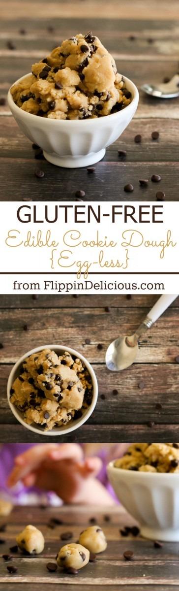 Gluten Free Edible Cookie Dough (egg