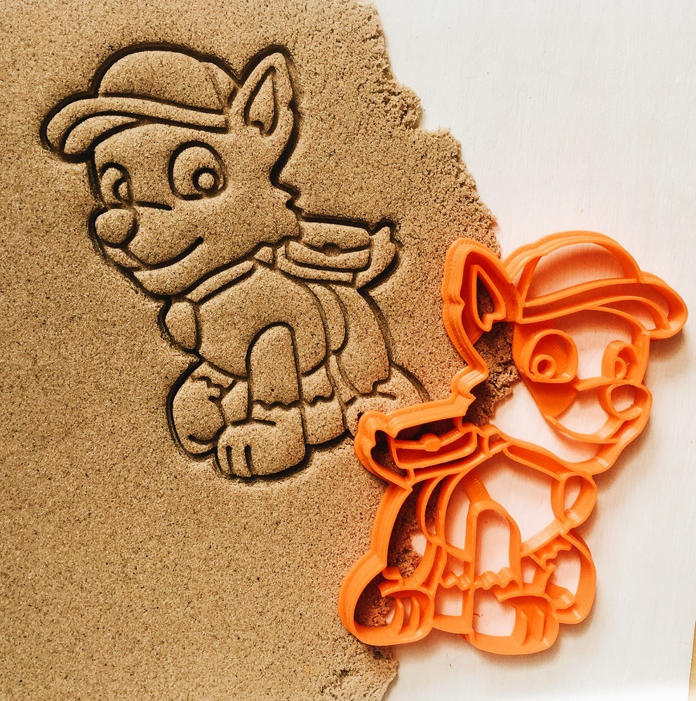 Paw Patrol Rocky Cookie Cutter