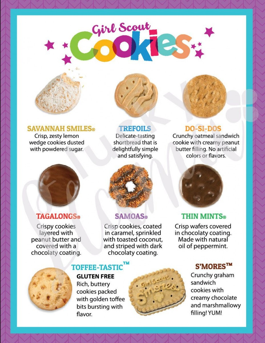 Pin By Natasha Reed Repaci On Ella's Girl Scout Cookie Selling