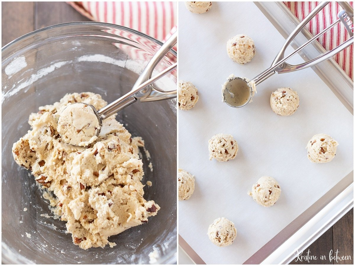 Easy Pecan Snowball Cookie Recipe