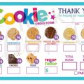 Girl Scout Cookie Order Form