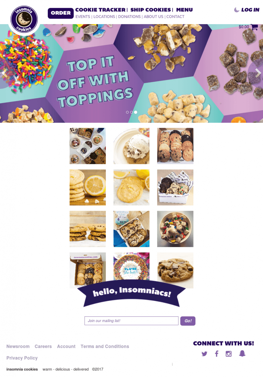 Insomnia Cookies Competitors, Revenue And Employees