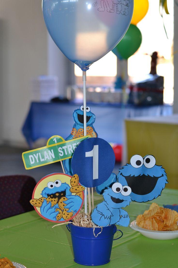 Cricut Cookie Monster Decorations