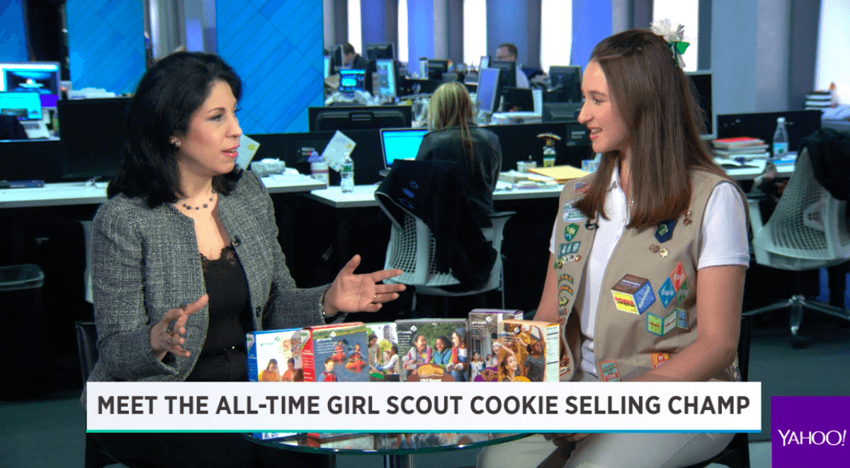 Meet The Girl Scout Who's Sold Over 100,000 Boxes Of Cookies