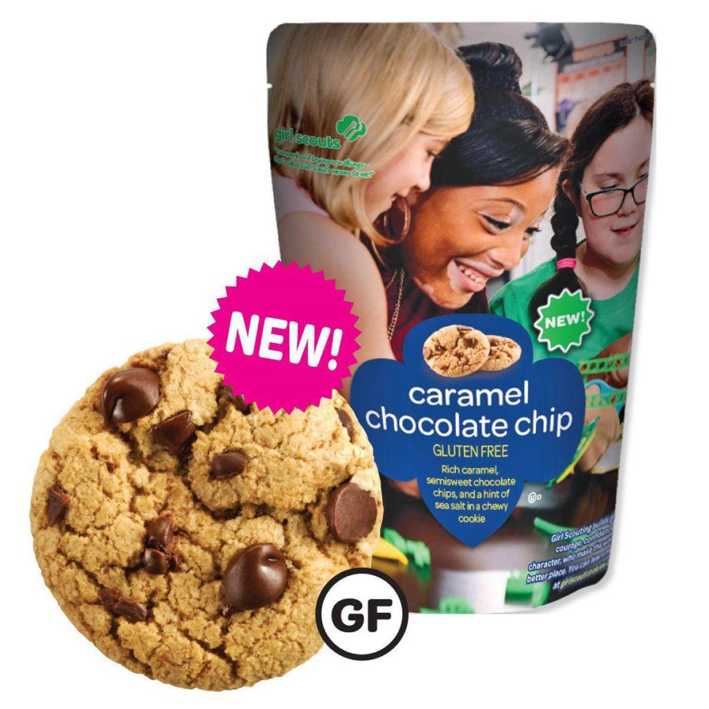 There's A New Girl Scout Cookie To Tempt Your Resolutions (and