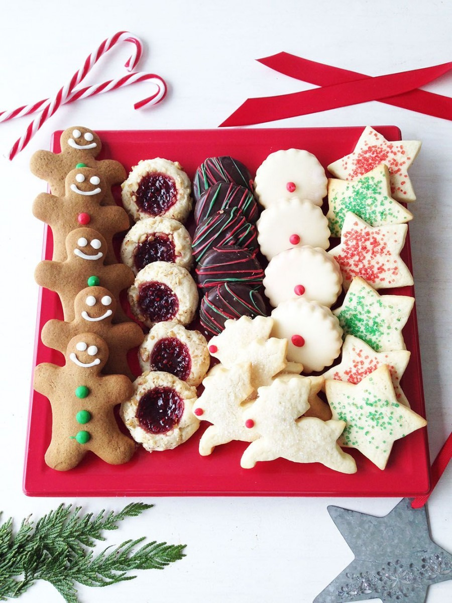 When There's No Time To Bake  Christmas Cookie Platter From
