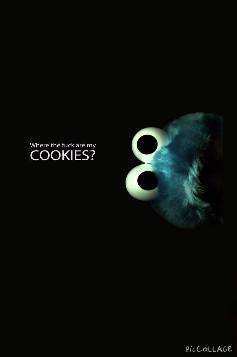 Onm Nom Nom Cookie Monster
