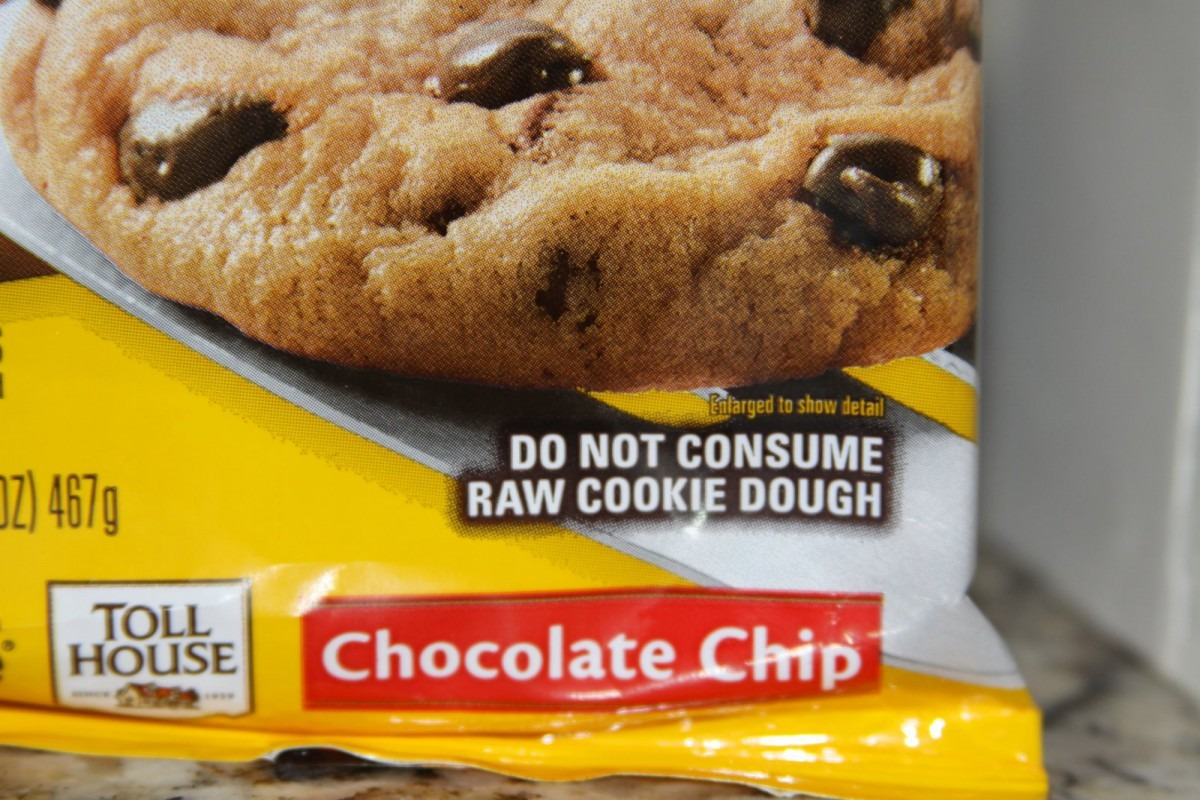 I Will Not Give Up Raw Cookie Dough