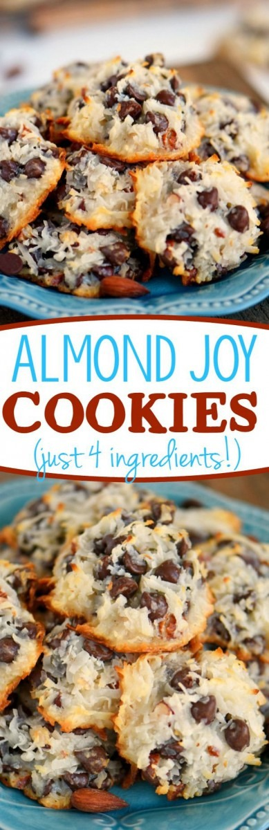 These Easy Almond Joy Cookies Take Just Four Ingredients And Don't