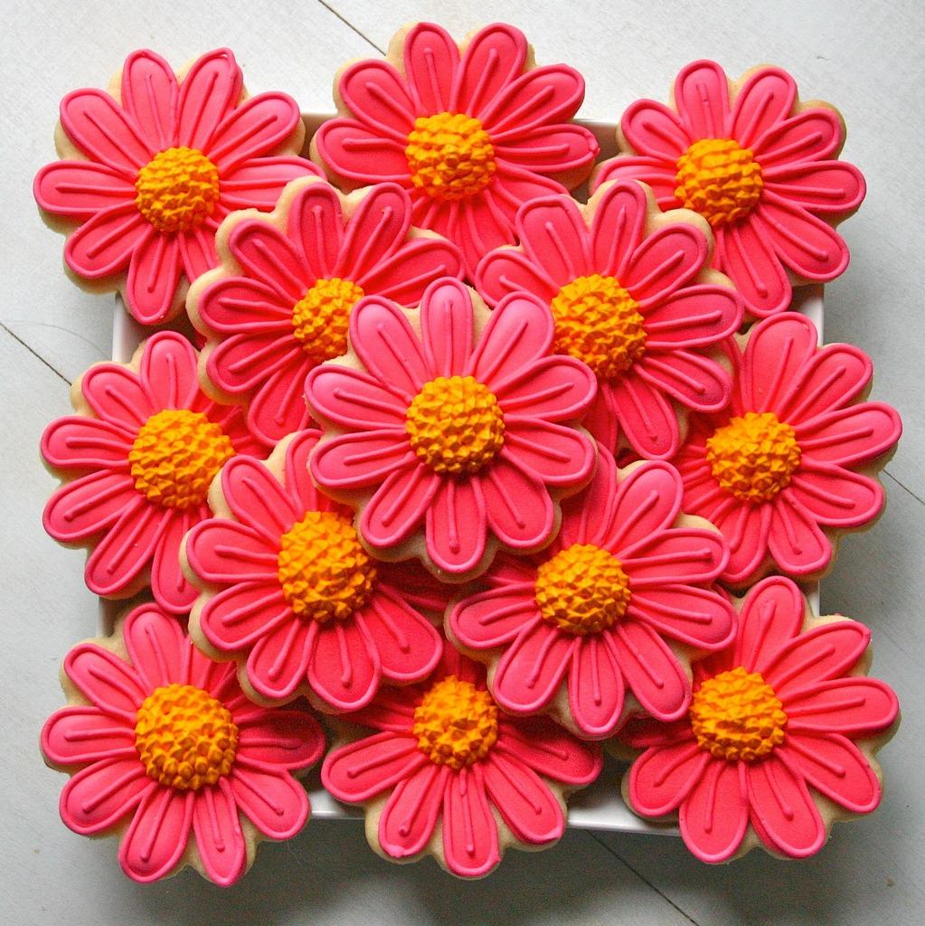 Flower Sugar Cookies