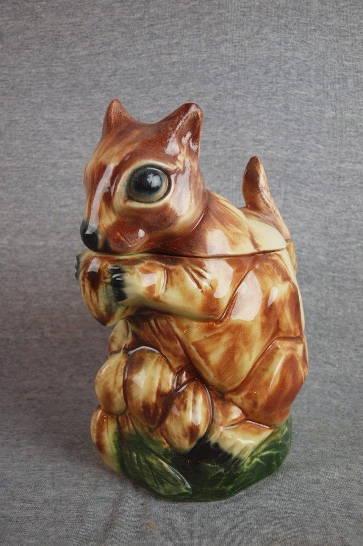 1313  Mccoy Squirrel Cookie Jar On In 2018