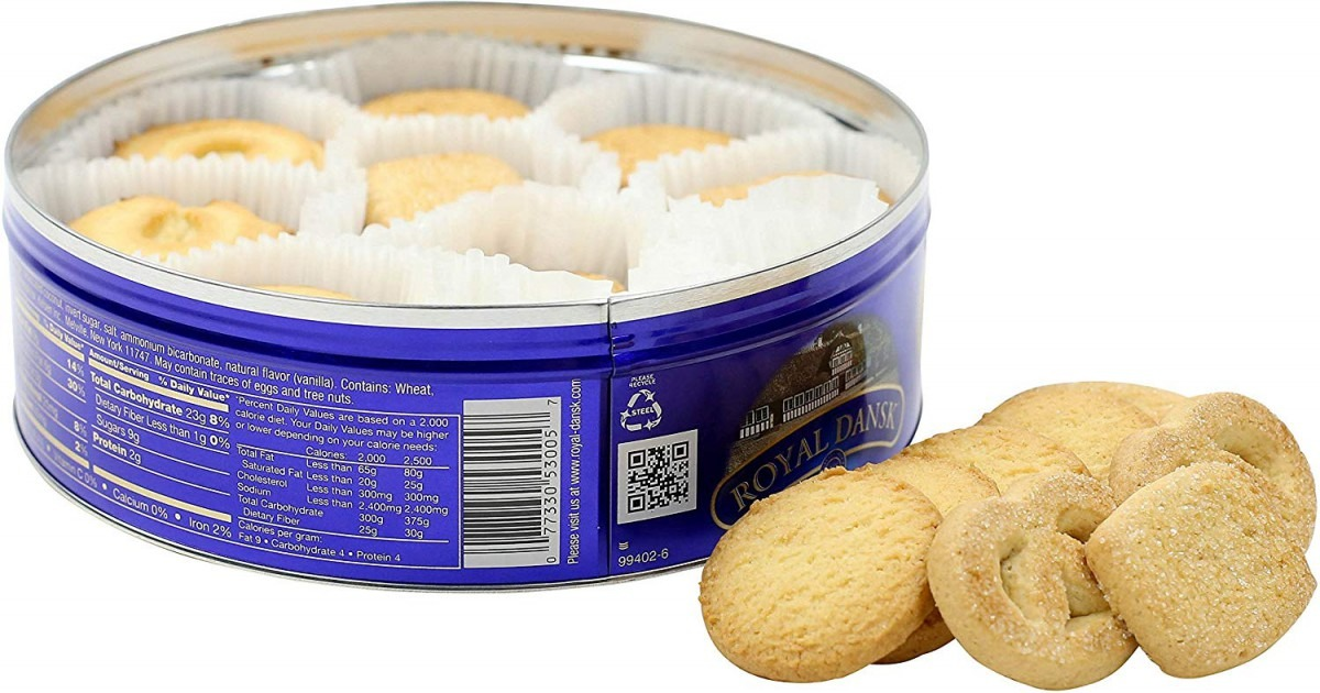 Amazon Com  Royal Dansk Danish Cookie Selection, No Preservatives