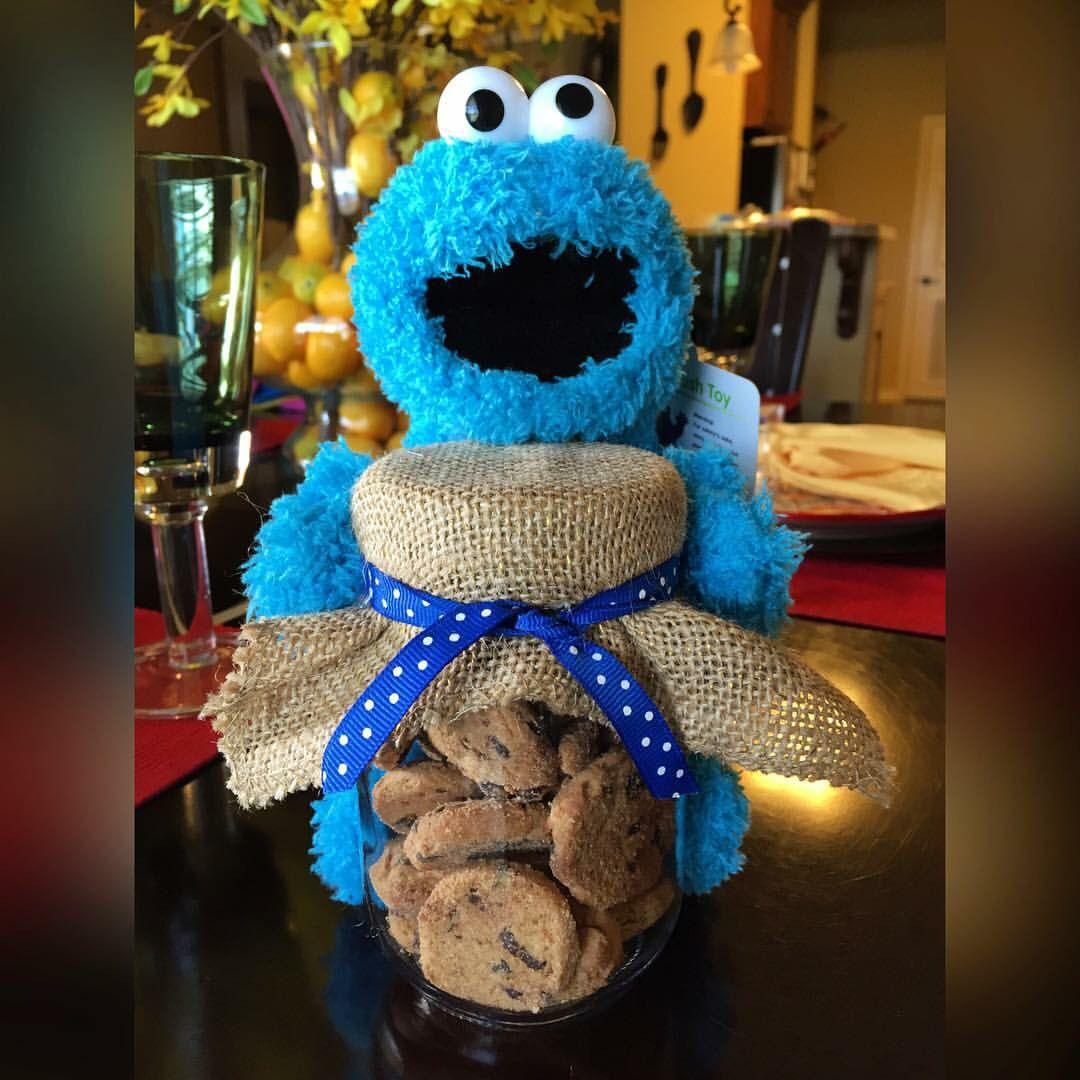 Cookie Monster Centerpiece