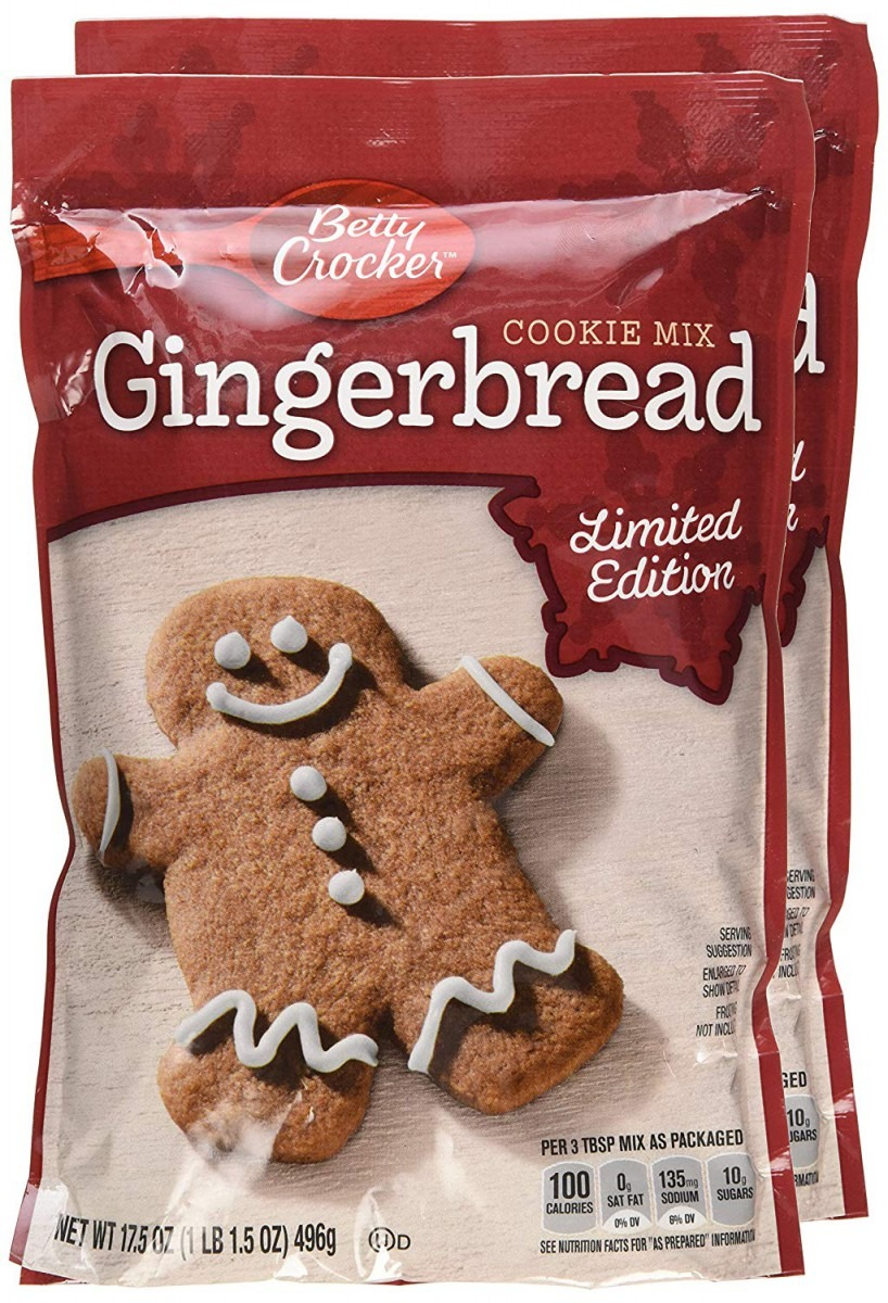 Amazon Com   Betty Crocker Gingerbread Cookie Mix 17 5 Oz (pack Of