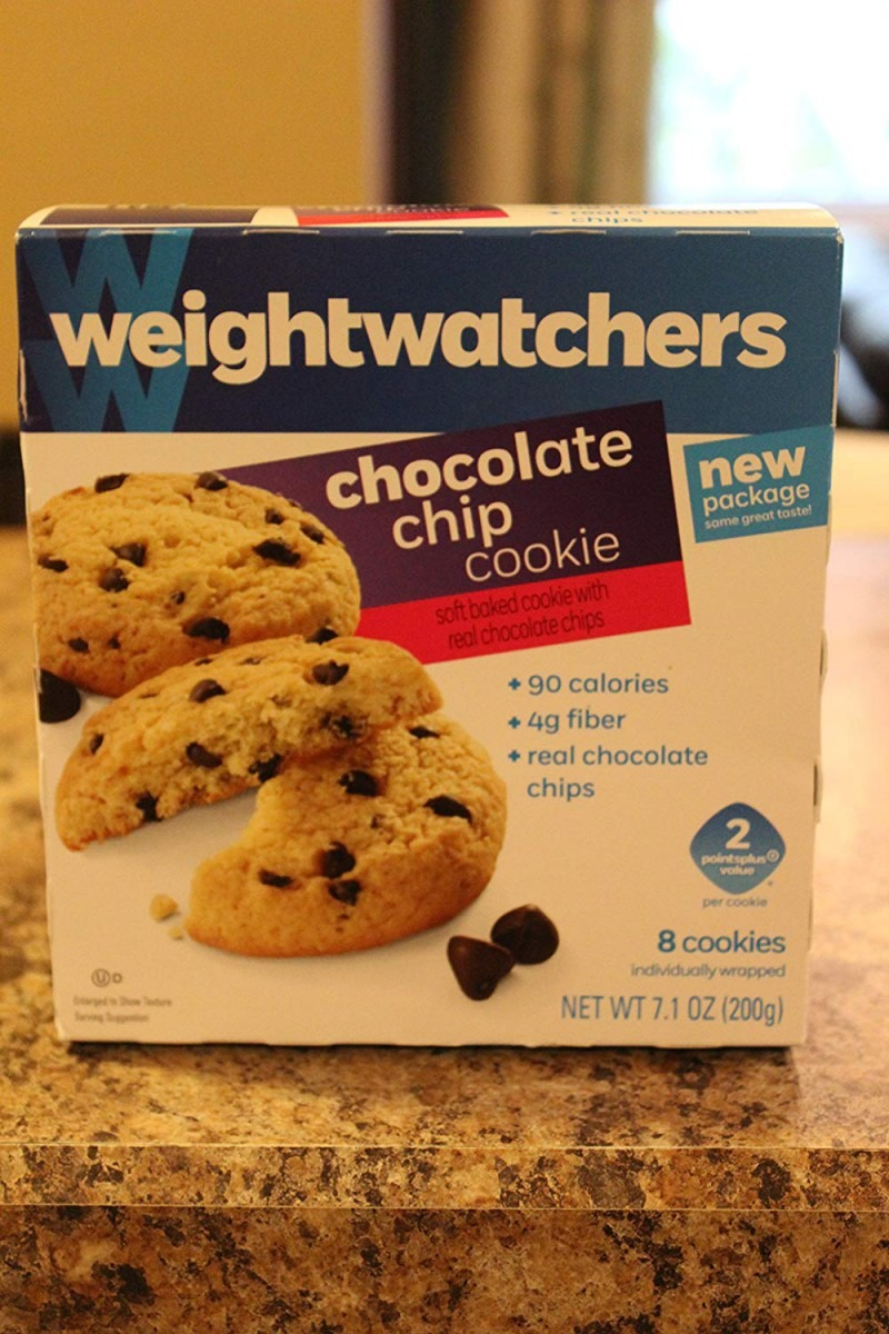 Amazon Com  Weight Watchers Chocolate Chip Cookies 2 Ppv 3 Boxes