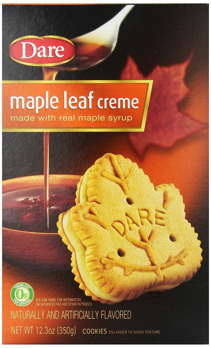 Amazon Com  Dare Cookies, Maple Leaf Creme (pack Of 12)