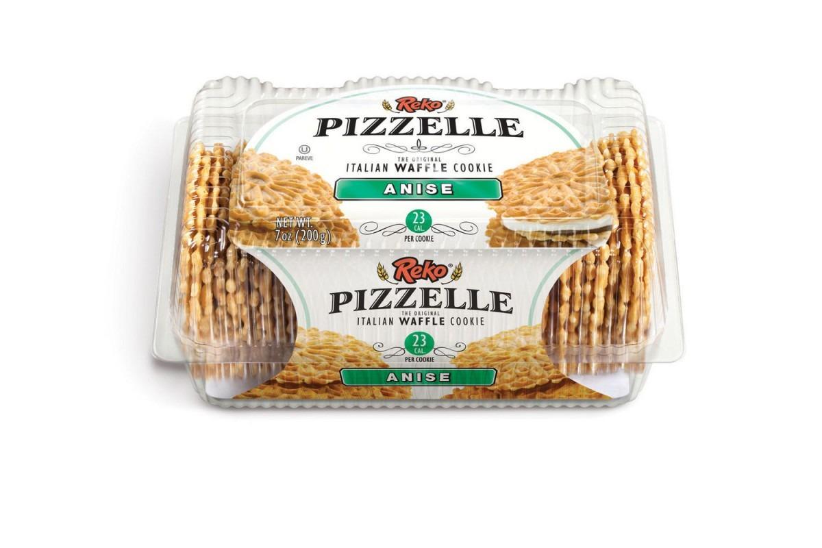 Reko Pizzelle Anise Italian Waffle Cookies