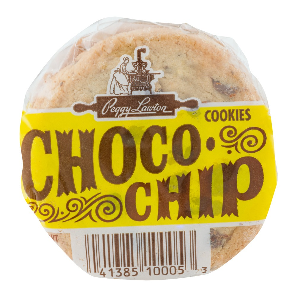 Peggy Lawton Chocolate Chip 2 Oz, 12 Count