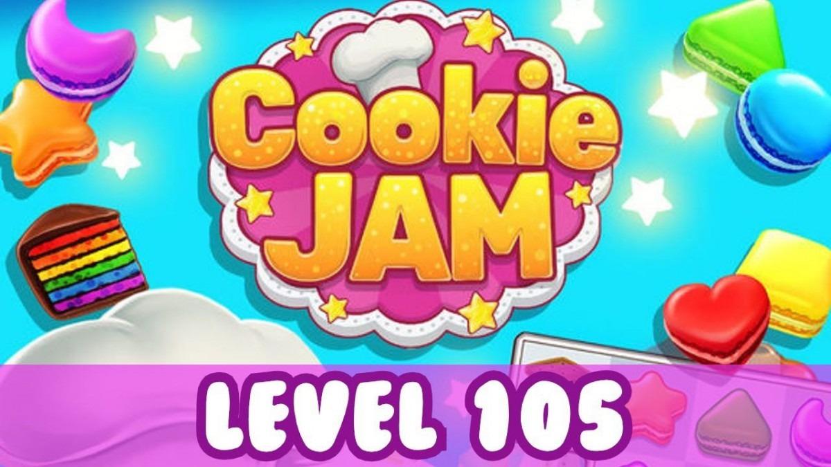 Cookie Jam Level 105