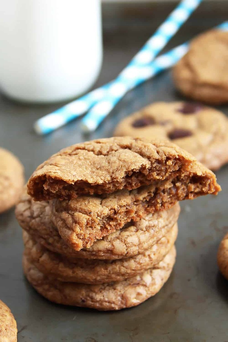 Chewy Coconut Sugar Cookies » Leelalicious