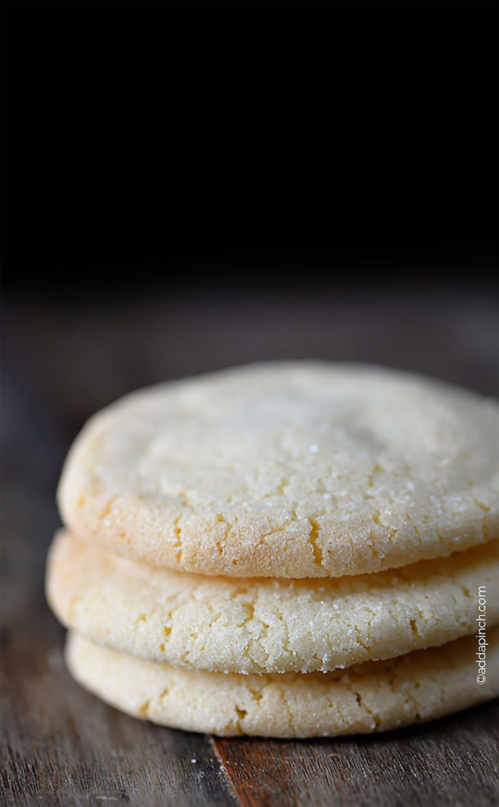 The Best Chewy Sugar Cookies Recipe!