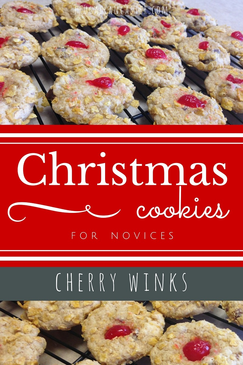 Cherry Winks {simple Christmas Cookies For Novices}