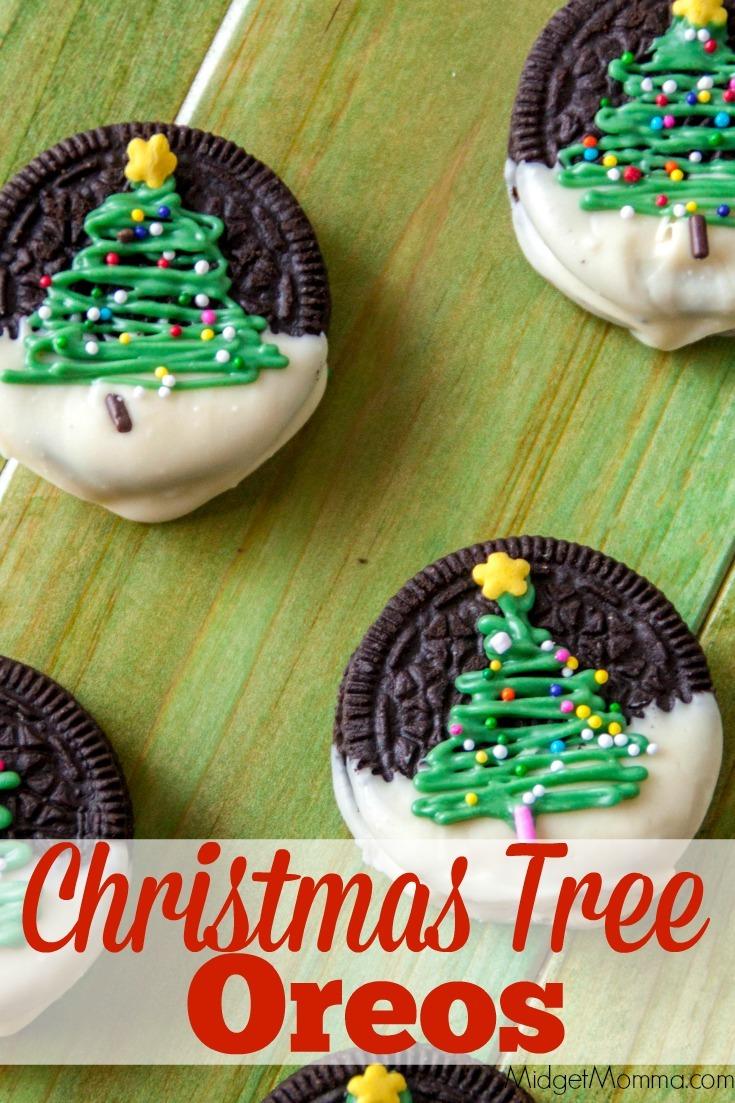 Christmas Tree Chocolate Covered Oreos • Midgetmomma