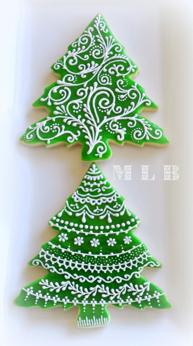 My Little Bakery 🌹  Christmas Tree Cookiesand Polish