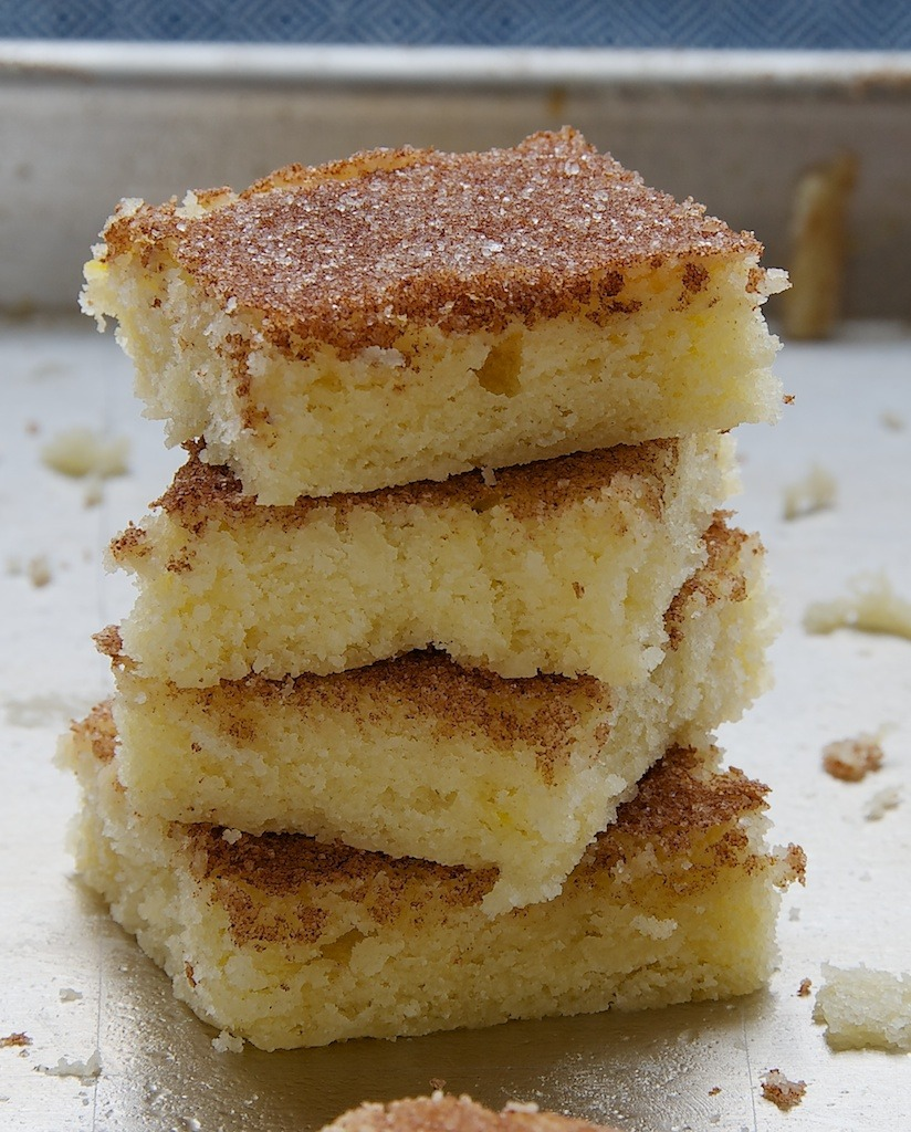 Cinnamon Sugar Cookie Squares