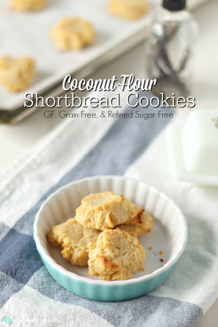 Coconut Flour Shortbread Cookies {grain, Gluten, And Refined Sugar