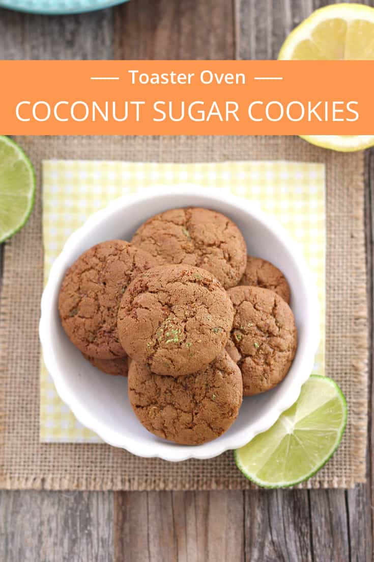 Lemon Lime Coconut Sugar Cookies