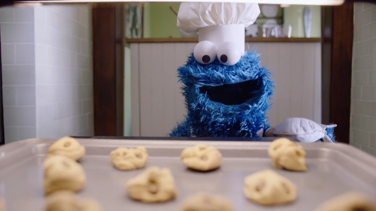 Ad Of The Day  Cookie Monster Bakes, And Frets, And Pleads With