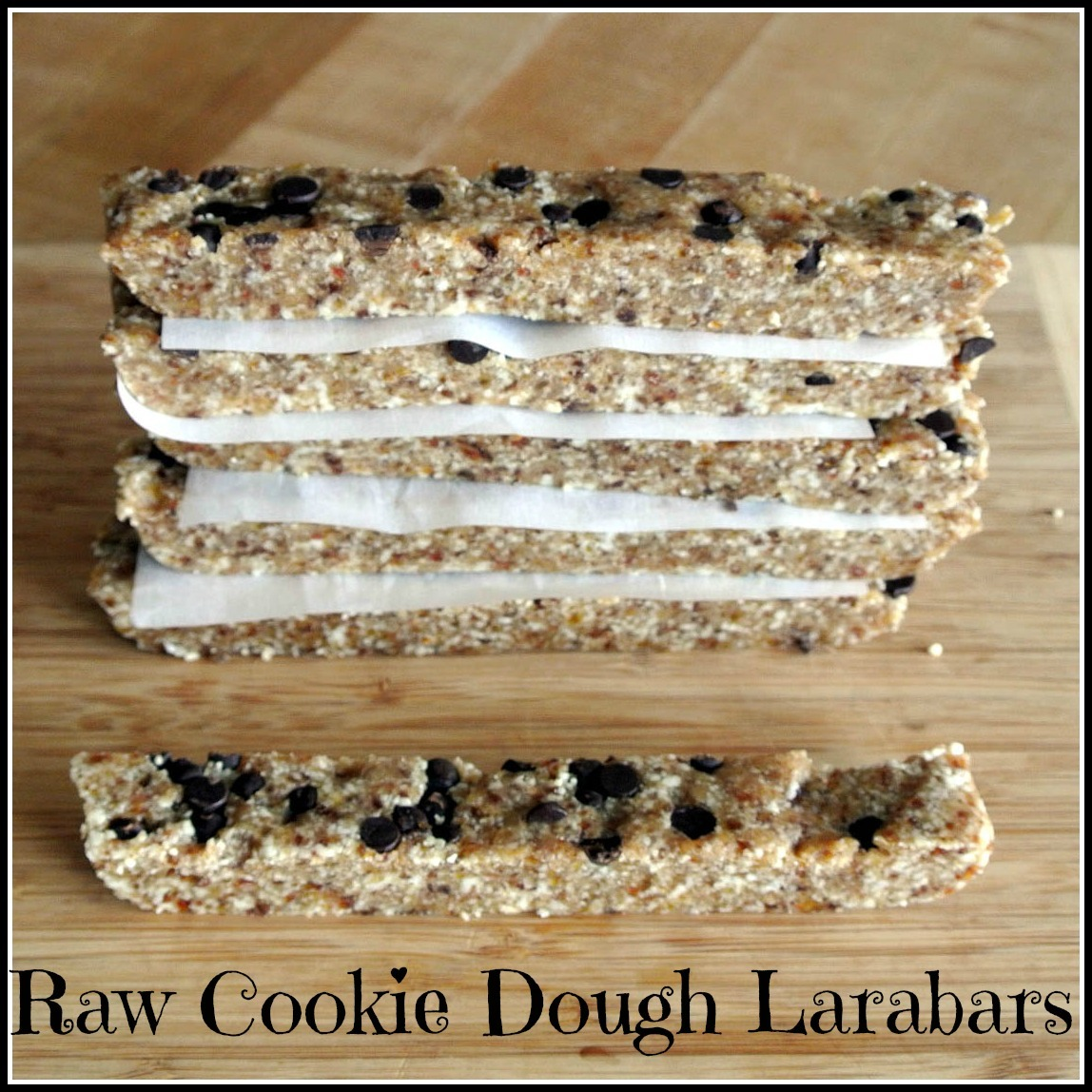 Mom, What's For Dinner   Chocolate Chip Cookie Dough Larabars