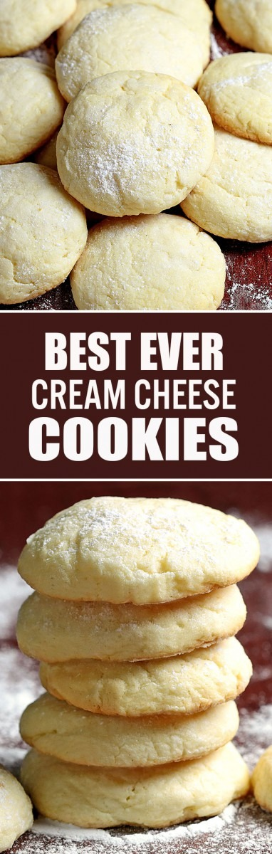 Easy Cream Cheese Cookies