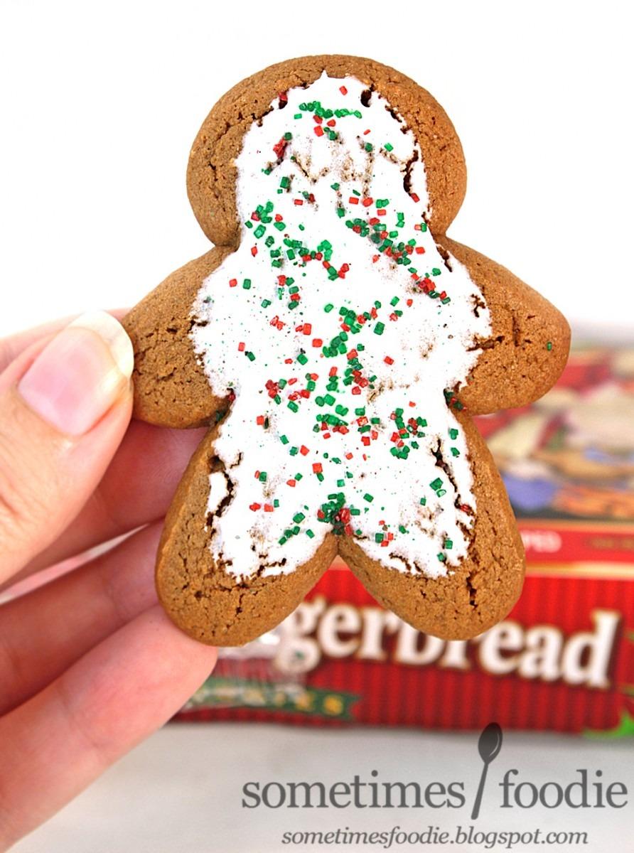 Sometimes Foodie  Christmas Gingerbread Soft Cookies