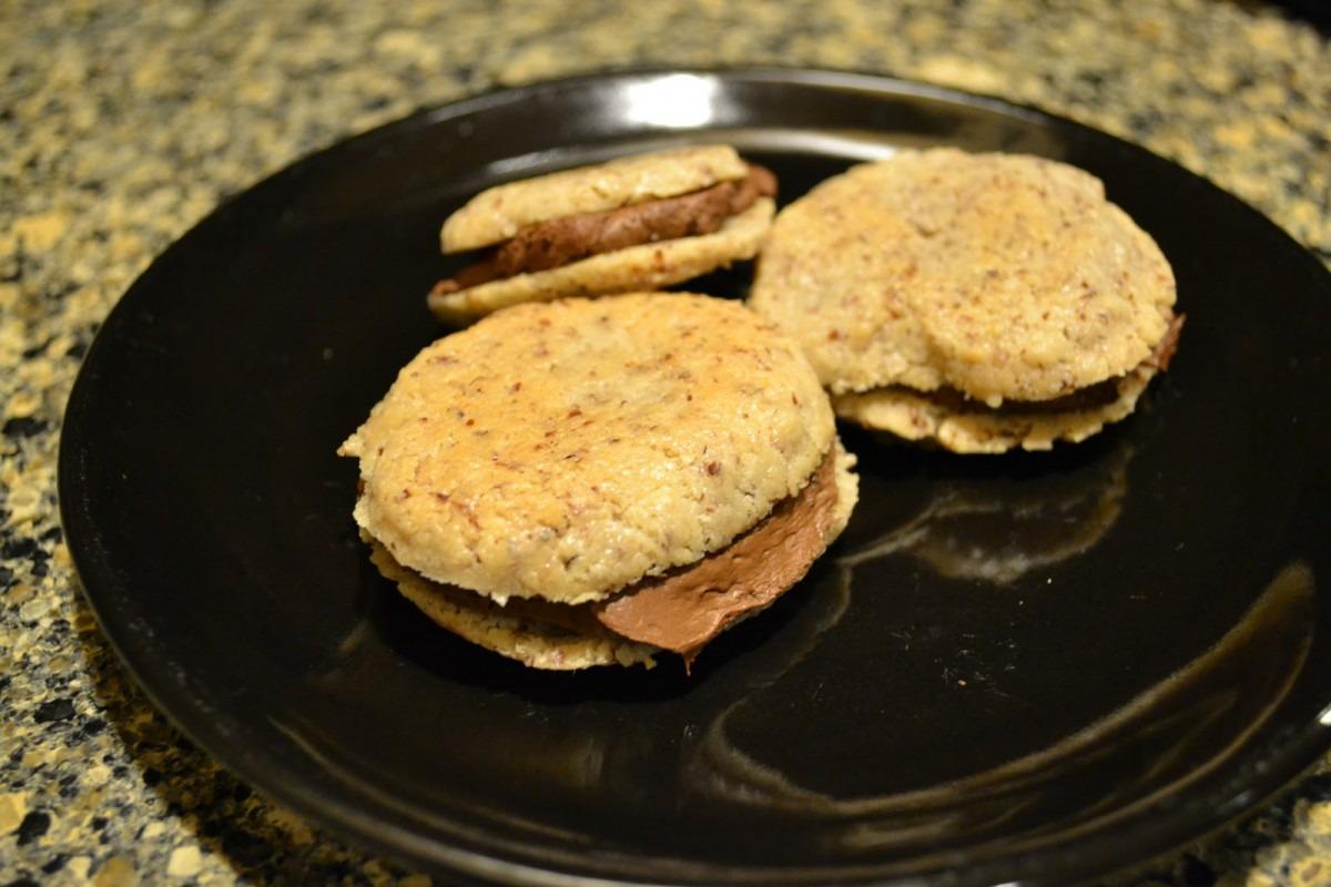 Paleo Swedish Cream Wafer Cookie