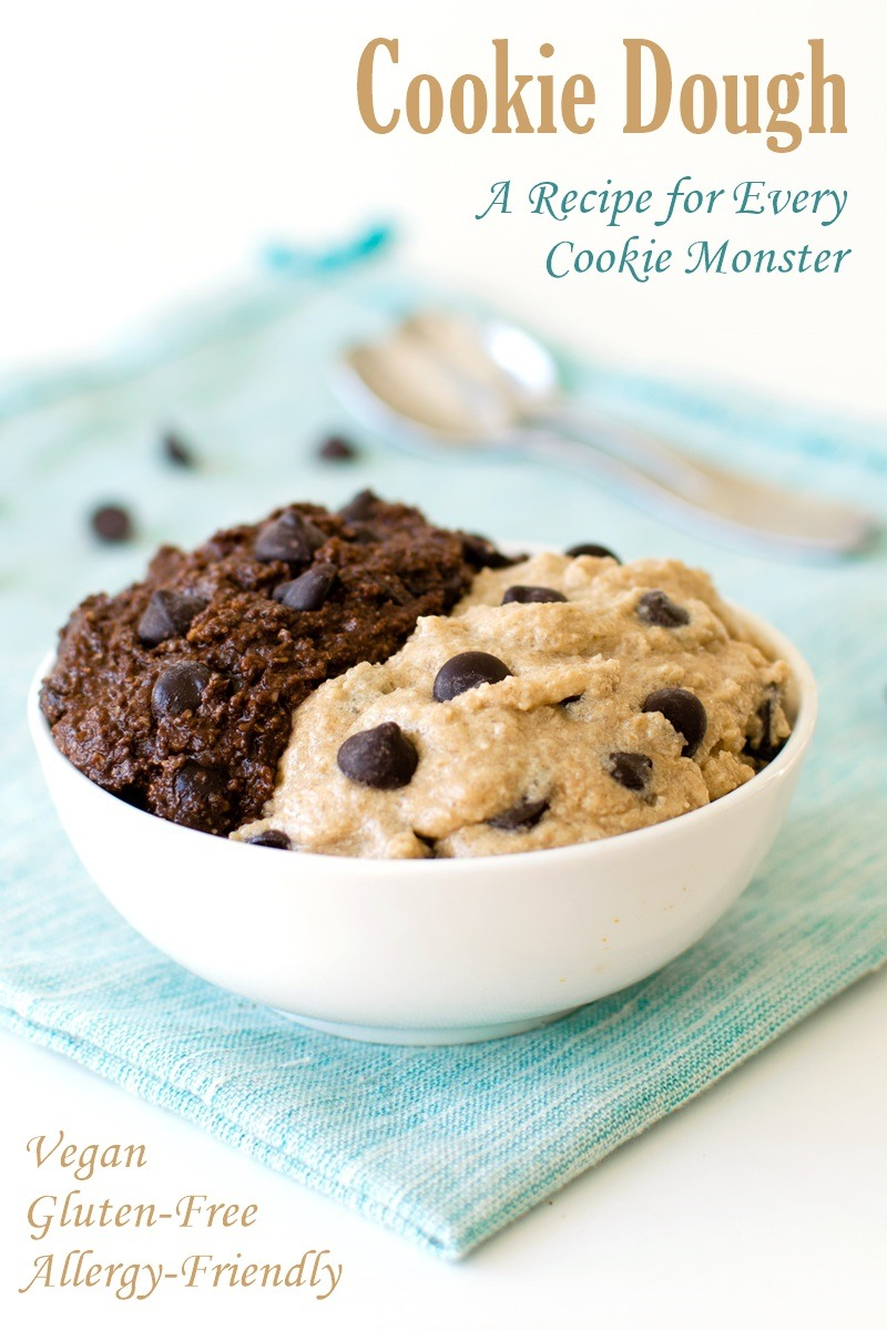 Chocolate Chip Cookie Dough Recipe (edible Vegan & Gluten