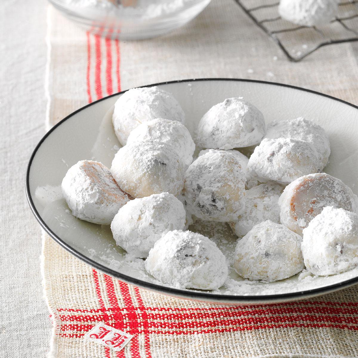 Cherry Almond Snowdrops Recipe