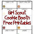Girl Scout Cookie Printables