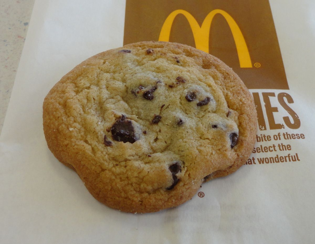 So My Husband And I Love Mcdonald's Chocolate Chip Cookies  They