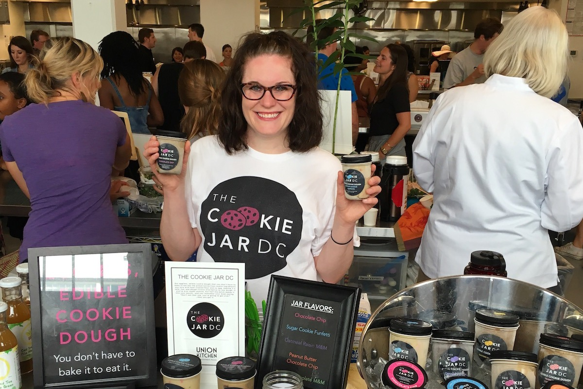 The Cookie Jar Dc  This Woman Makes And Sells Edible Cookie Dough