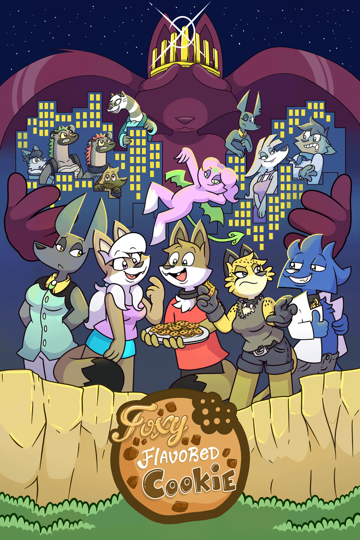 Foxy Flavored Cookie The Comic Series By Tomthebaker On Deviantart