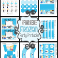 Disney Frozen Party Invitations Printable
