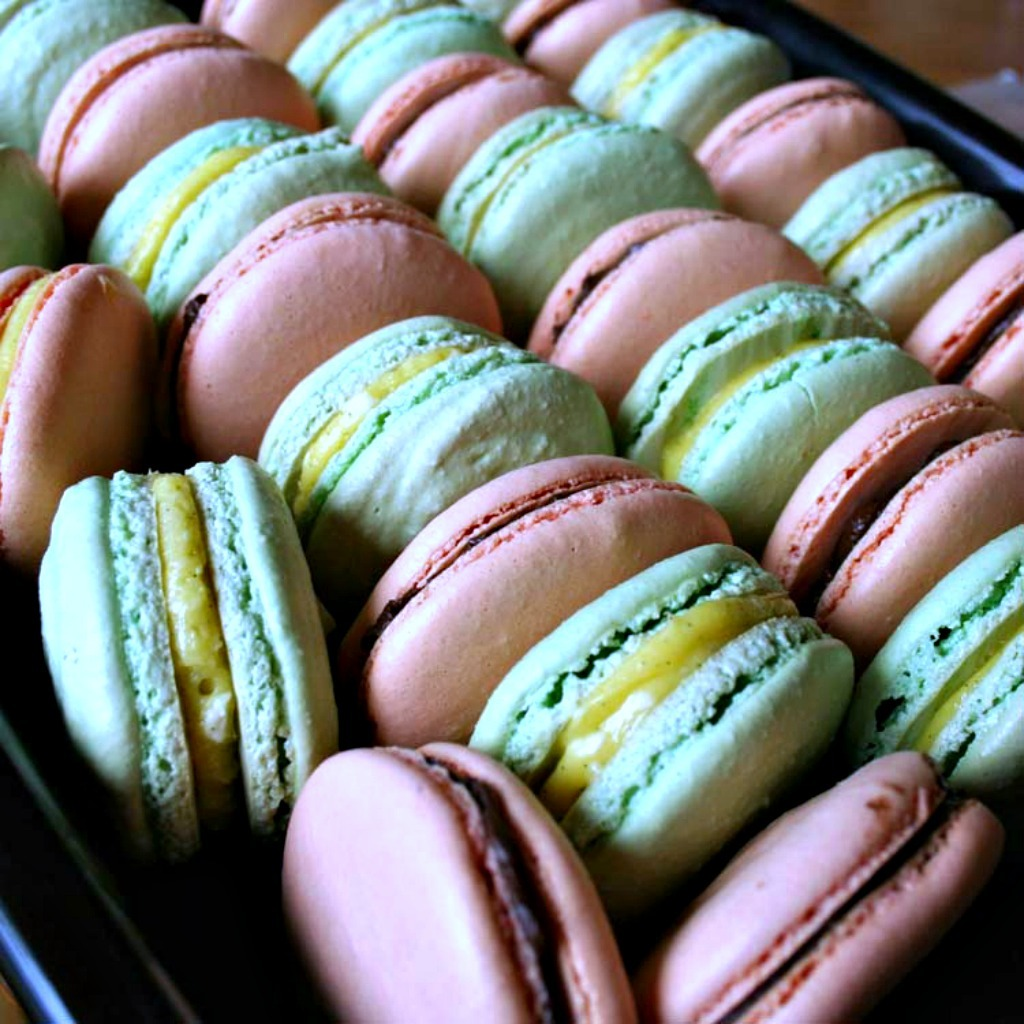 French Meringue Macaron Recipe From Macarons By Cecile Cannone