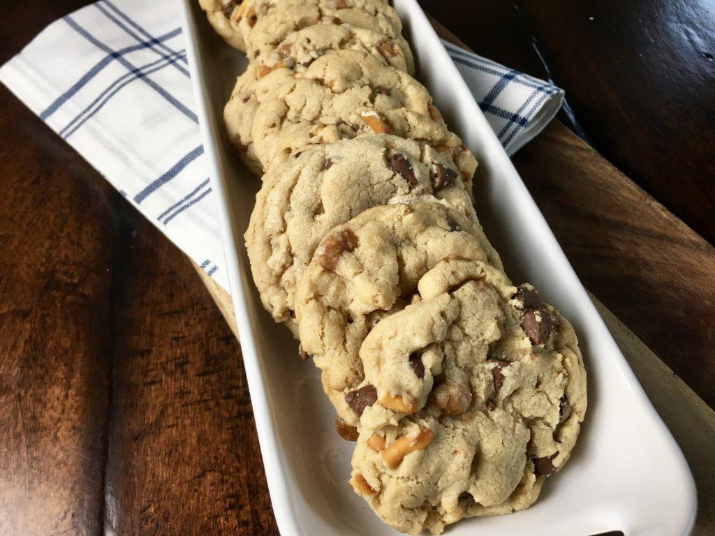 Caramel Pretzel Chocolate Chip Cookies (panera's 'kitchen Sink