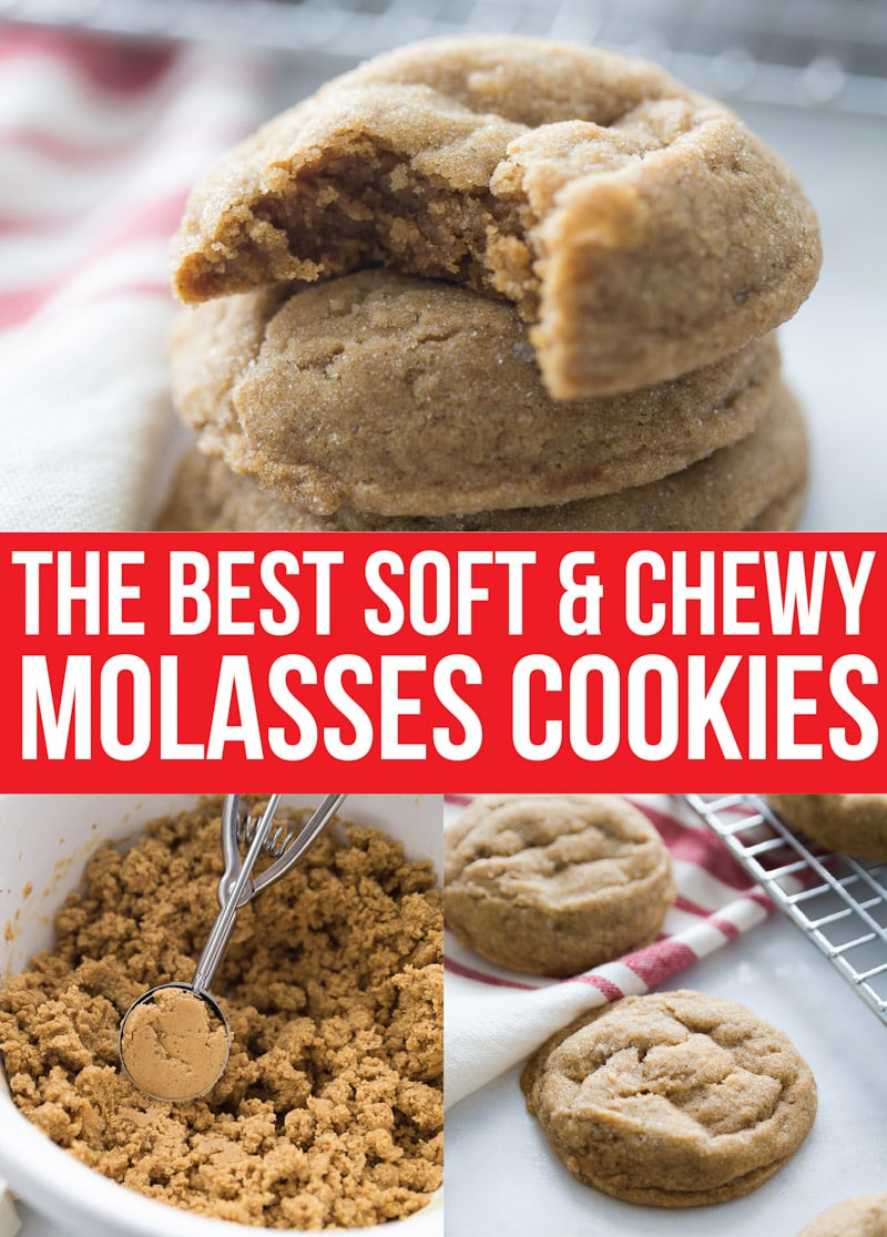 The Best Soft & Chewy Ginger Molasses Cookies