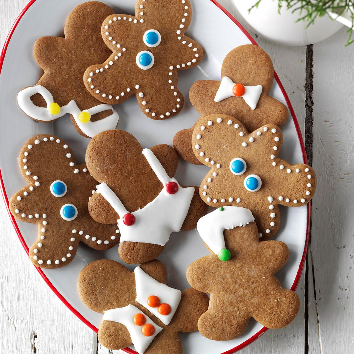 Watch Us Make  Gingerbread Men Cookies