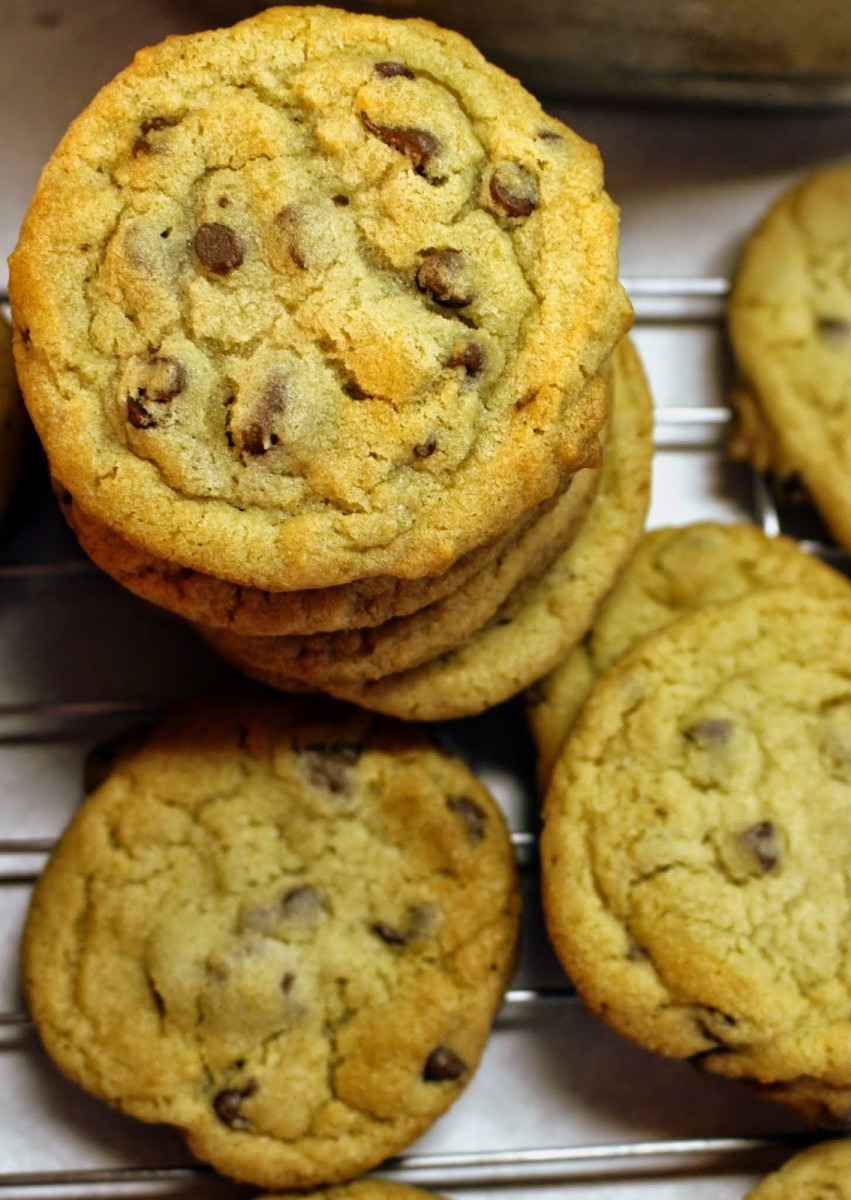 Sugar For Breakfast  Chocolate Chip Cookies {crisco}