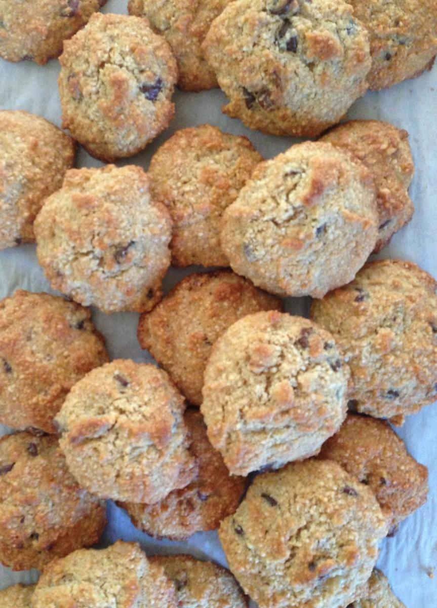 A Mrs Maker  Chocolate Chip & Walnut Almond Cookies